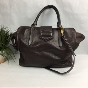 Marc By Marc Jacobs Flipping Out Brown Crossbody